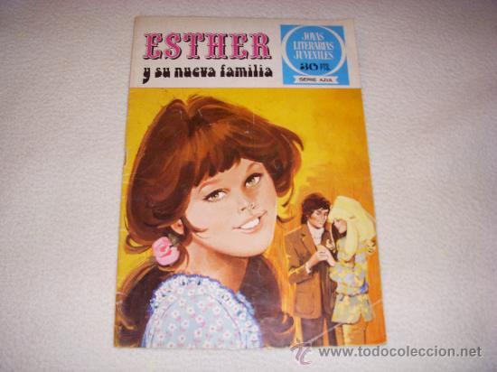ESTHER Nº 2, JOYAS LITERARIAS JUVENILES SERIE AZUL, EDITORIAL BRUGUERA (Tebeos y Comics - Bruguera - Esther)