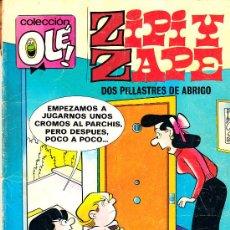 Tebeos: COMIC COLECCIÓN OLÉ! ZIPI Y ZAPE Nº 156 ED. BRUGUERA.1980 FRMTO.ORIGINAL. Lote 31095795