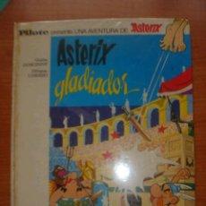 Tebeos: ASTERIX Y OBELIX, ASTERIX GLADIADOR, EDITORIAL BRUGUERA, 1ª EDICIÓN AÑO 1968,. Lote 31099653