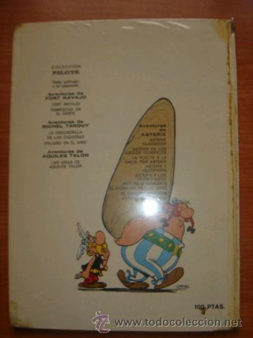 Tebeos: ASTERIX Y OBELIX, ASTERIX GLADIADOR, EDITORIAL BRUGUERA, 1ª EDICIÓN AÑO 1968, - Foto 8 - 31099653
