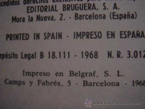 Tebeos: ASTERIX Y OBELIX, ASTERIX GLADIADOR, EDITORIAL BRUGUERA, 1ª EDICIÓN AÑO 1968, - Foto 5 - 31099653