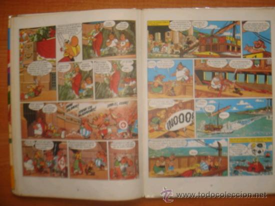 Tebeos: ASTERIX Y OBELIX, ASTERIX GLADIADOR, EDITORIAL BRUGUERA, 1ª EDICIÓN AÑO 1968, - Foto 6 - 31099653