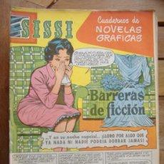 Tebeos: SISSI.CUADERNOS DE NOVELAS GRAFICAS.Nº40. Lote 31121363