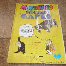 Tebeos: MORTADELO ESPECIAL CAFES 60 PTS 1979. Lote 31137510