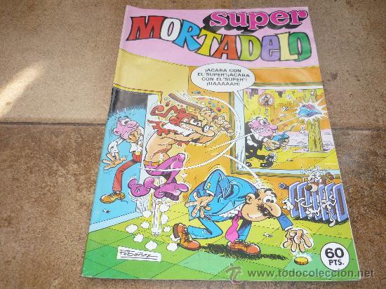 SUPER MORTADELO 60 PTS 1981 (Tebeos y Comics - Bruguera - Otros)