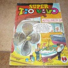 Tebeos: SUPER TIO VIVO ASTILLEROS S. A. 60 PTS 1981. Lote 31145040