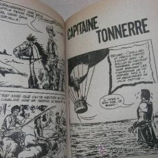 Tebeos: CAPITAINE TONNERRE (CAPITAN TRUENO) MUY RARO. NO ES AMIGO NI IVANHOE. Lote 31156027