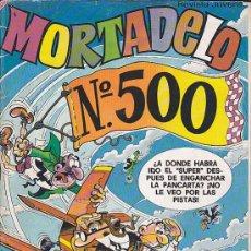 Tebeos: MORTADELO Nº 500. Lote 31179219