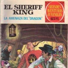 Tebeos: EL SHERIFF KING. LA AMENAZA DEL DRAGÓN. GRANDES AVENTURAS JUVENILES Nº 4. EDITORIAL BRUGUERA.. Lote 31192751