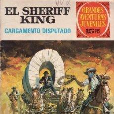 Tebeos: EL SHERIFF KING. CARGAMENTO DISPUTADO. GRANDES AVENTURAS JUVENILES Nº 8. EDITORIAL BRUGUERA.. Lote 31192795