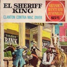 Tebeos: EL SHERIFF KING. CLANTON CONTRA MAC DIVER. GRANDES AVENTURAS JUVENILES Nº 14. EDITORIAL BRUGUERA.. Lote 31192807