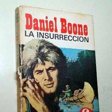 Tebeos: DANIEL BOONE Nº 3. LA INSURRECCIÓN. COLECCIÓN HÉROES SELECCIÓN. EDITORIAL BRUGUERA 1969. +++. Lote 31225907