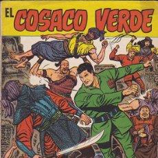 Tebeos: COSACO VERDE ALMANAQUE 1961. Lote 31236215