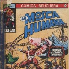 Tebeos: COMIC LA MOSCA HUMANA, Nº 6 - COMICS BRUGUERA. Lote 31358471