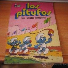 Tebeos: LOS PITUFOS OLIMPICOS EDITORIAL BRUGUERA Nº 11.-2ª EDICION 1981. Lote 31315841
