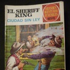 Tebeos: EL SHERIFF KING. CIUDAD SIN LEY. GAJ Nº 18. 1ª EDICIÓN. BRUGUERA. Lote 31763302