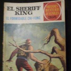 Tebeos: EL SHERIFF KING. EL FORMIDABLE CHI-FONG. GAJ Nº 26. 2ª EDICIÓN. BRUGUERA. Lote 31763263