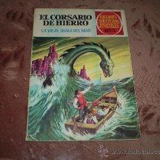 Tebeos: GRANDES AVENTURAS JUVENILES Nº 3(EL CORSARIO DE HIERRO). Lote 31518186