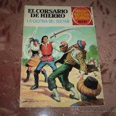 Tebeos: GRANDES AVENTURAS JUVENILES Nº 53(EL CORSARIO DE HIERRO). Lote 31518206