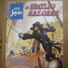Tebeos: SUPER JOYAS Nº 02. EMILIO SALGARI. BRUGUERA, 1977.. Lote 31544462