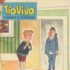 Tebeos: TIO VIVO EL SEMANARIO DE LAS CARCAJADAS Nº 166 EDITORIAL BRUGUERA. Lote 31587646