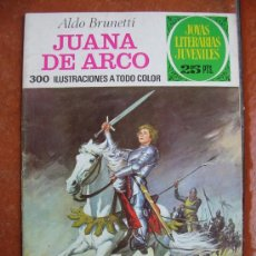 Tebeos: JOYAS LITERARIAS Nº 109 : JUANA DE ARCO; ALDO BRUNETTI. Lote 31591930