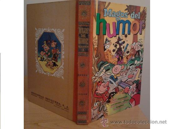 MAGOS DEL HUMOR VOLUMEN X (10). BRUGUERA, 1ª EDICIÓN, 1972. (Tebeos y Comics - Bruguera - Otros)