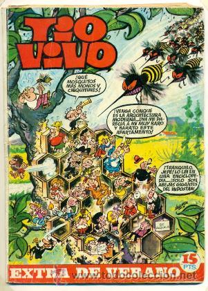 TIO VIVO EXTRA VERANO 1970 - (Tebeos y Comics - Bruguera - Tio Vivo)