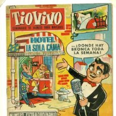 Tebeos: TIO VIVO EXTRAORDINARIO HOMENAJE A PEPE IGLESIAS EL ZORRO 1957. Lote 32164985
