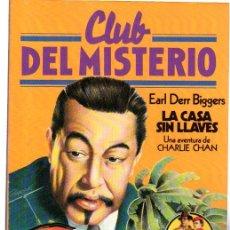 Tebeos: CLUB DEL MISTERIO, EARL DERR BIGGERS, LA CASA SIN LLAVES, Nº 64. Lote 31689898