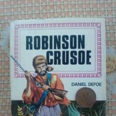 Tebeos: ROBINSON CRUSOE-HISTORIAS INFANTILES-DANIEL DAFOE - 1 EDICION FEBRERO 1969. Lote 31912497