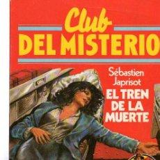 Tebeos: CLUB DEL MISTERIO, SEBASTIEN JAPRISOT, EL TREN DE LA MUERTE, BRUGUERA, Nº 31. Lote 48151767
