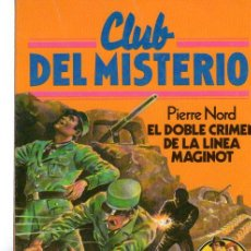 Tebeos: CLUB DEL MISTERIO, PIERRE NORD, EL DOBLE CRIMEN DE LA LÍNEA MAGINOT, BRUGUERA, Nº 29. Lote 31764281