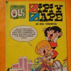 Tebeos: OLE ! ZIPI ZAPE Nº 10 LOS MINI TERREMOTOS . 6ª EDICION 1984 BRUGUERA .. Lote 31898667