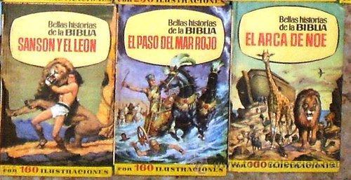 BELLAS HISTORIA DE LA BIBLIA CON 160 ILUSTRACIONES 1ª EDICION 1965 EDITORIAL BRUGUERA TAPA DURA SIN (Tebeos y Comics - Bruguera - Historias Selección)