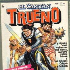 Tebeos: TEBEOS-COMICS GOYO - CAPITAN TRUENO - REVISTA Nº 8 *CC99. Lote 31919811