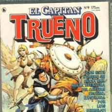 Tebeos: TEBEOS-COMICS GOYO - CAPITAN TRUENO - REVISTA Nº 9 *CC99. Lote 31919825