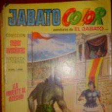 Tebeos: JABATO COLOR AÑO 1977 Nº 143 ¡LA MUERTE AL ACECHO!. Lote 31979011