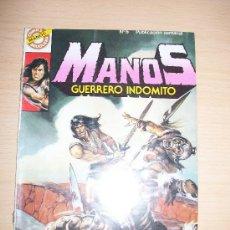 Tebeos: MANOS - GUERRERO INDOMITO Nº 5 - EDICIONES BRUGUERA. Lote 31983906