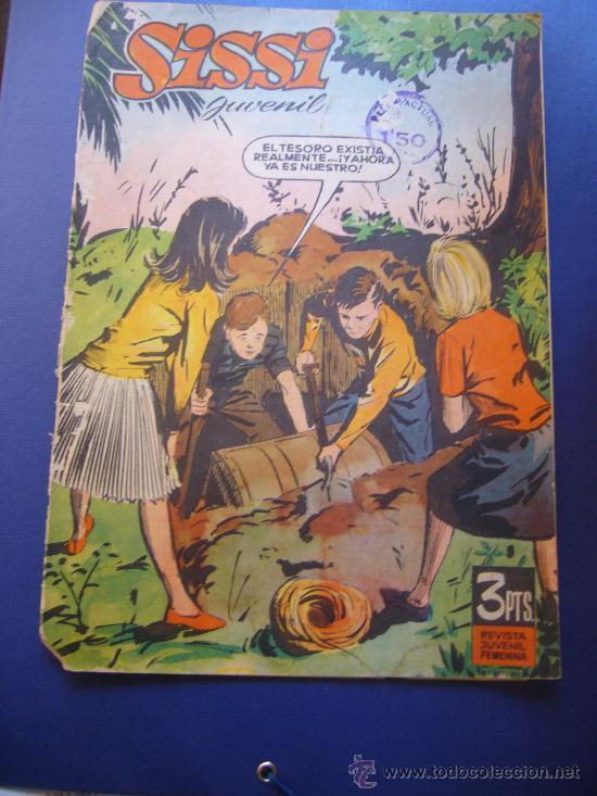 REVISTA JUVENIL FEMENINA SISSI JUVENIL (Tebeos y Comics - Bruguera - Sissi)