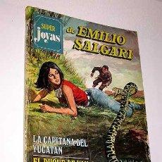Tebeos: SUPER JOYAS Nº 8. EMILIO SALGARI. CAPITANA YUCATÁN, DUQUE VAN GULD, MONTAÑA AZUL. BRUGUERA 1977.. Lote 32082595