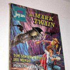 Tebeos: SUPER JOYAS Nº 14. MARK TWAIN. TOM SAWYER, PRÍNCIPE Y MENDIGO. BRUGUERA 1978.. Lote 32082640