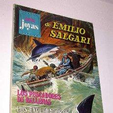Tebeos: SUPER JOYAS Nº 28. EMILIO SALGARI. PESCADORES BALLENAS, EXPLORADORES MELORIA, JIRAFA. BRUGUERA 1979.. Lote 32082706