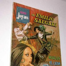 Tebeos: SUPER JOYAS Nº 46. EMILIO SALGARI. MORGAN, LEÓN DAMASCO, PIRATAS CARIBE. BRUGUERA 1981.. Lote 32082776