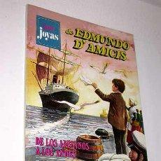 Tebeos: SUPER JOYAS Nº 1. EDMUNDO D'AMICIS. MARCO, TAMBORCILLO SARDO, SANGRE ROMAÑOLA. BRUGUERA 1977.. Lote 32082827