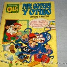 Tebeos: OLÉ Nº 1 PEPE GOTERA Y OTILIO. BRUGUERA 1ª EDICIÓN CON Nº EN LOMO. 40 PTS. 1971.. Lote 32102003