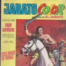 Tebeos: JABATO COLOR Nº 1. SEGUNDA ÉPOCA.. Lote 32174707