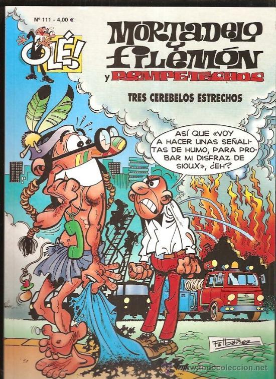OLE MORTADELO Y FILEMON 111 (Tebeos y Comics - Bruguera - Mortadelo)