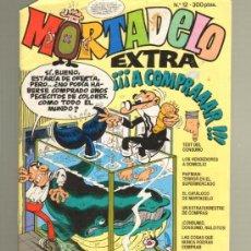 Tebeos: TEBEOS-COMICS GOYO - MORTADELO EXTRA Nº 12 *BB99. Lote 32219744