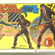 Tebeos: TEBEOS-COMICS GOYO - PIRATA NEGRO 2 - BRUGUERA *UU99. Lote 32257786